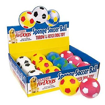 Classic For Pets Soccer Ball 3  (95mm), Box 12U (unit price)