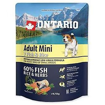 Ontario Fish and Rice Adult Mini (Dogs , Dog Food , Dry Food)