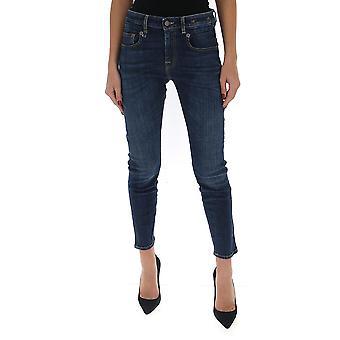 R13 R13w1186247 Women's Blue Cotton Jeans