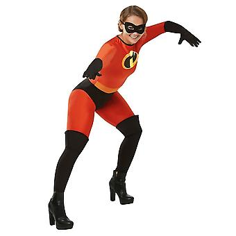 The Incredibles Womens/Ladies Mrs Incredible Costume