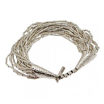 Nour London Multi Strand Effect Bead Bracelet
