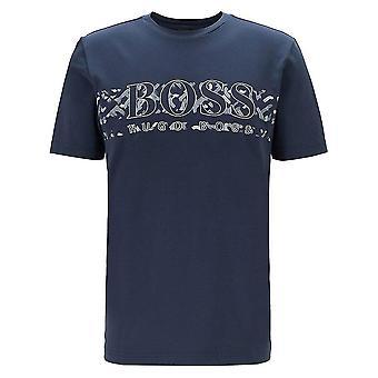 Hugo Boss Tee 14 Regular Fit Navy T-paita