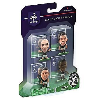 SoccerStarz France 4 Player Blister Pack C Figures