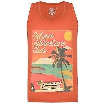KAM Kam Cuban Club Print Vest