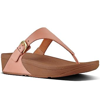 FitFlop™ Skinny Womens Leather Toe Post Sandals
