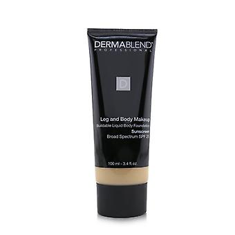Dermablend Leg And Body Make Up Buildable Liquid Body Foundation Sunscreen Broad Spectrum Spf 25 - #light Natural 20n (box Slightly Damaged) - 100ml/3.4oz