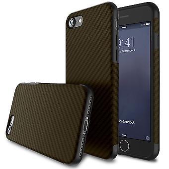 Textured carbon fibre iphone 6 plus case