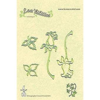 LeCrea - Lea'bilitie Roses Cut and Embossing Die 45.7681