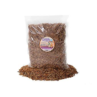 6.3kg dried chubby mixes (mealworms & calci worms)