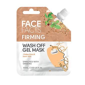 Face Facts Wash Off Gel Face Mask ~ Firming