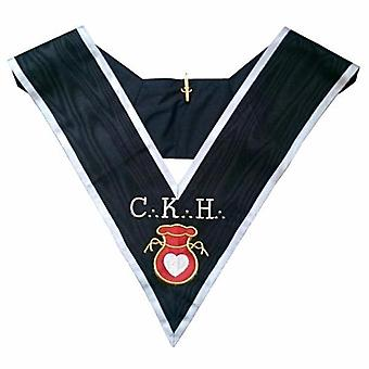 Masonic officer's collar - assr - 30th degree - ckh - grand almoner