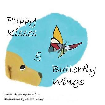 Puppy Kisses  Butterfly Wings by Bunting & Paulette