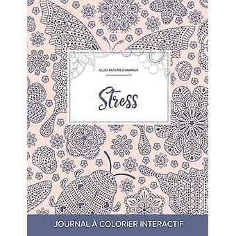 Journal de coloration adulte Stress Illustrations danimaux Coccinelle by Wegner & Courtney