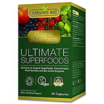Natur ' s stöd Organic Ultimate superfoods kapslar 60 (139220)