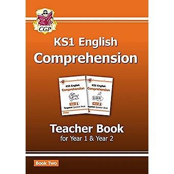 New KS1 English Targeted Comprehension Teacher Book 2 for Year 1  Year 2 by Books & CGP