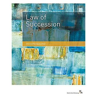 The Law of Succession - 2019 by Richard Hedlund - 9780995653047 Book