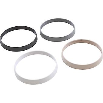 PAL Lighting 39-P200-6K Trim Ring Kit - White - Black - Gray - Tan