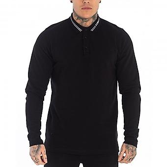 Foray Marcos Long Sleeves Polo T-Shirt Noir