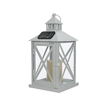 Lumineo LED Solar Metal Lantern