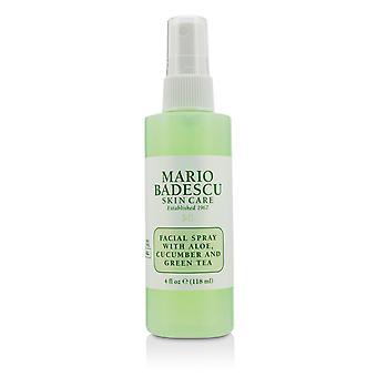 Kasvojen spray aloe, kurkku ja vihreä tee kaikille ihotyypeille 216688 118ml /4oz
