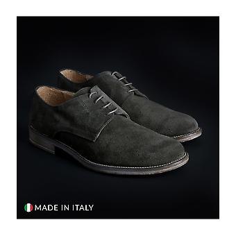 SB 3012 - Shoes - Lace-up shoes - 06-CAMOSCIO-B-VERDE - Men - darkolivegreen - EU 41