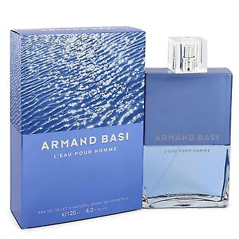 Armand Basi L'eau Pour Homme Eau De Toilette Spray By Armand Basi 4.2 oz Eau De Toilette Spray