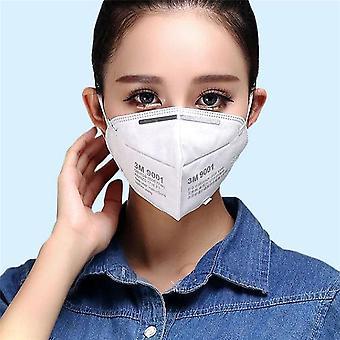6-pak 3m 9001 Mouthguard ansigtsmaske respirator Kn90