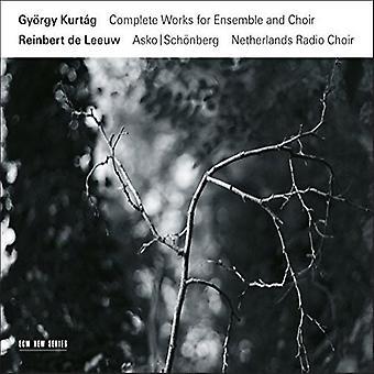 Gyorgy Kurtag - Samlade verk för Ensemble & Choir [CD] USA import