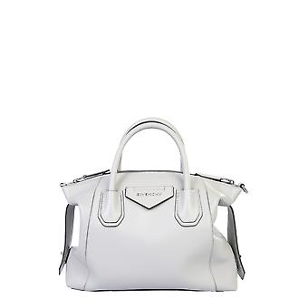Givenchy Bb50f3b0wd051 Women's Grey Leather Shoulder Bag
