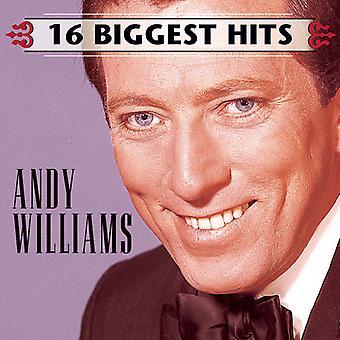 アンディ ・ ウィリアムス - 16 の最大のヒット曲 [CD] USA 輸入
