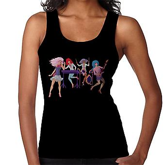 Jem And The Holograms Singing Women's Vest