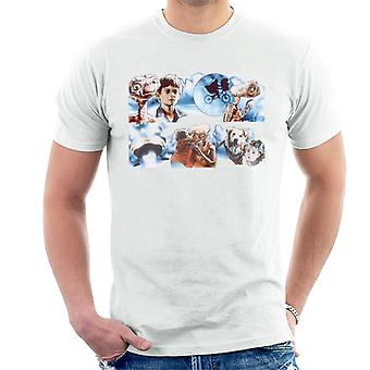 E.T. The Extra-Terrestrial Montage Men's T-Shirt