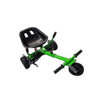 SILI® Off Road Suspension Kart for 2 Wheel Self Balance Scooter, Improved Design with Suspension Under Seat - GREEN