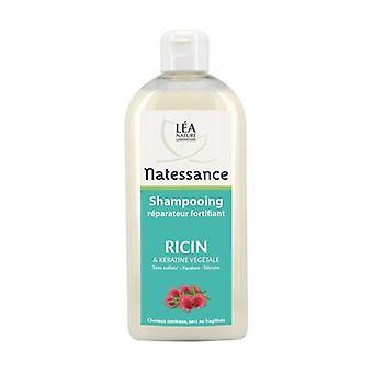 Shampooing réparateur fortifiant ricin & kératine végétale 500 ml