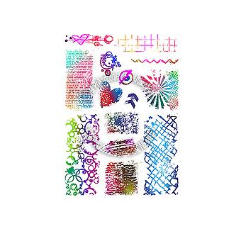 Polkdoodles Amazing Textures Clear Stamps