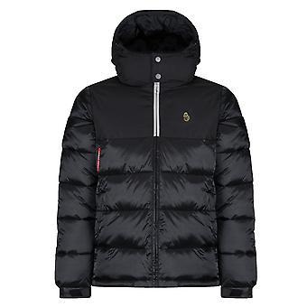 Luke | Hodges Sport Zm400728 Railings Bubble Hood Jacket - Black