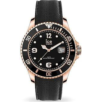 Ice Watch Armbanduhr Unisex ICE steel Black Rose-Gold Large 016766