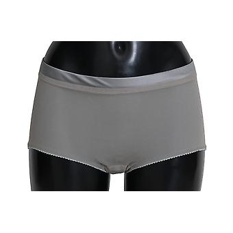 دولتشي وغابانا الملابس الداخلية الفضية مع قيعان الحرير الصافية - BIK2376432