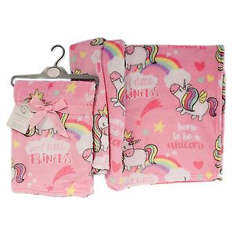 Snuggle Baby Girls Unicorn Wrap
