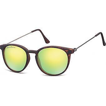 Sonnenbrille Damen by SGB    braun/gelb (Schildkröte) (MS33)