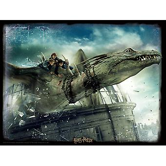 Harry Potter 3D Image Puzzle 500pc Norbert