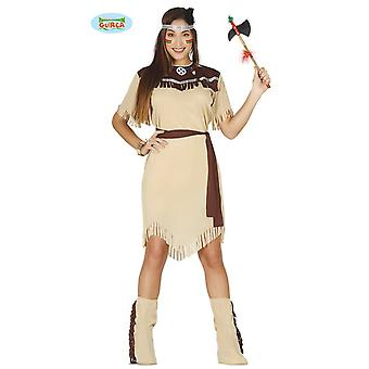 Indianderin costume femme indienne Squaw Amérique Indiens Cherokee