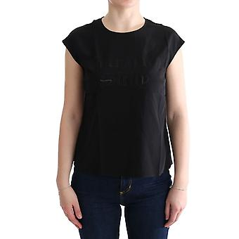 Dolce & Gabbana Black Enchanted Sicily Silk Blouse T-Shirt TUI10001-2