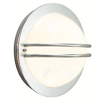 1 Lichte buitenmuur licht gegalvaniseerde IP54, E27