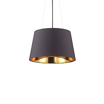 Ideal Lux Nordik - 4 Light Dome Deckenanhänger Hellschwarz
