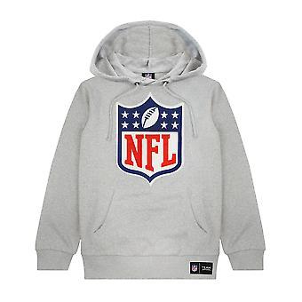 NFL Logo Hoodie American Football Game Unisex Men Women Grey Pullover Sweater