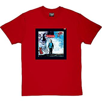 The City Is Red Red Men's T-Shirt