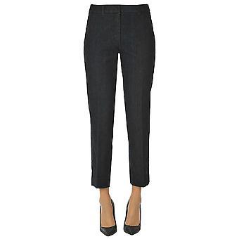 'S Max Mara Ezgl137132 Femmes-apos;s Blue Cotton Jeans