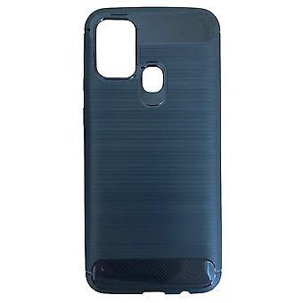 Rumpf für Samsung Galaxy M31 Flexibles Carbon-Effekt