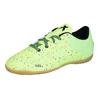 Adidas X 15,3 CT ragazzi Indoor Football formatori - verde chiaro